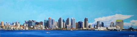 San Diego California Skyline