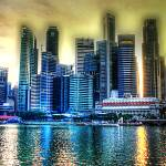 """City Skyline 2013- Singapore Urban Landscape"" by sghomedeco"