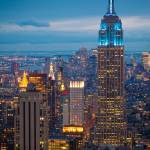 """Empire State Blue Night"" by Inge-Johnsson"
