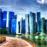 """City Skyline - Urban Landscape Singapore 2013"" by sghomedeco"