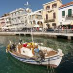 """Boat, Agios Nikolaos, Crete, Greece"" by petrsvarc"