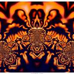 """Monks Pondering Sacred Geometry -Surreal Fractal"" by LeahMcNeir"