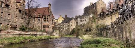 Dean Village, Edinburgh (Panoramia)
