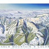 Monarch Mountain, Colorado Art Prints & Posters by James Niehues