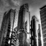 """Shenton Way B/W- City Singapore 2013"" by sghomedeco"