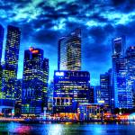 """City Twilight - City Singapore 2013"" by sghomedeco"