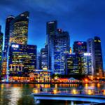 """City in Blue - City Singapore 2013"" by sghomedeco"