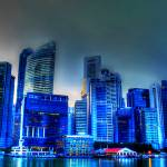 """City  Blue Hour - City Singapore 2013"" by sghomedeco"