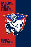 American National Series Football Poster