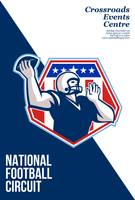 American National Football Circuit Poster