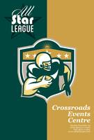 American Gridiron All Star League Poster