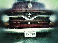 Vintage Ford 8 grill