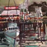 """Night Wharf"" by WilliamDunn"