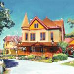 """Christian House Old Town San Diego"" by BeaconArtWorksCorporation"