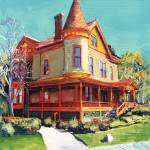 """Historic Christian House"" by BeaconArtWorksCorporation"