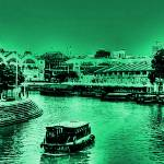 """Clarke Quay Singapore, Vintage"" by sghomedeco"
