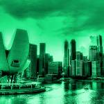 """Vintage Tone Series - Fantastic City Singapore , U"" by sghomedeco"