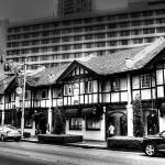"""Urban Black and white  Series- Orchard Road Singap"" by sghomedeco"