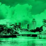 """Vintage Tone Series - Fantastic City Singapore"" by sghomedeco"