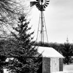 """Windmill in Winter"" by patsphotos"