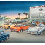 """""""Mission Drive-In"""" by WillyDaleArt"""