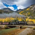 """Durango-Silverton Twin Bridges"" by Inge-Johnsson"