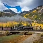 """Durango-Silverton Twin Bridges"" by Inge-Johnsson"