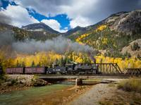 Durango-Silverton Twin Bridges