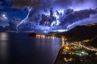 Lightning storm by Giuseppe Mattera - Downloaded f