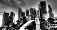 Cityscape Singapore 2013 Black/white