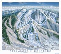 Steamboat Trail Map 1988