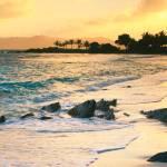 """""""Golden Sunrise on Sapphire Beach"""" by RoupenBaker"""