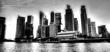Urban Landscape Singapore Photography 2013, Black/