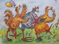 Fowl Play Series: Chicken Conga Line