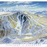 """Sunlight Mountain Resort, Colorado"" by jamesniehuesmaps"