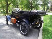 Model T With Luggage Rack