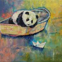 Paper Boat Art Prints & Posters by Michael Creese