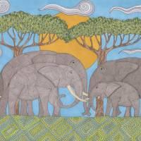 Family Bonds Art Prints & Posters by Pamela Schiermeyer