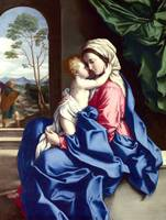 Virgin & Child Jesus Embracing