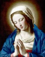 The Madonna Praying