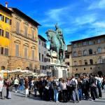 """""""Cosimo I in Piazza delle Signoria"""" by Johnson-Miles"""