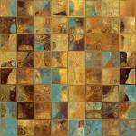 """Tile Art 16, 2013. Modern Mosaic Tile Art Painting"" by MarkLawrence"