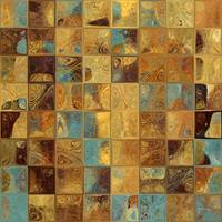Tile Art 16, 2013. Modern Mosaic Tile Art Painting