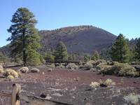 the bridge at Sunset Crater
