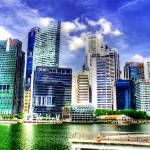 """City Skyline, Singapore"" by sghomedeco"