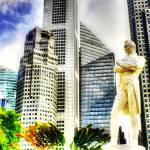 """Raffles and City Singapore"" by sghomedeco"