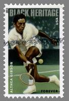 Althea Gibson Postage Stamp