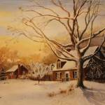 """SubUrban Snow"" by Kirillie"