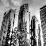 """Architecture Singapore B/W"" by sghomedeco"