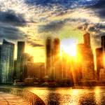 """City and Sun - Urban Landscape Singapore 2013"" by sghomedeco"
